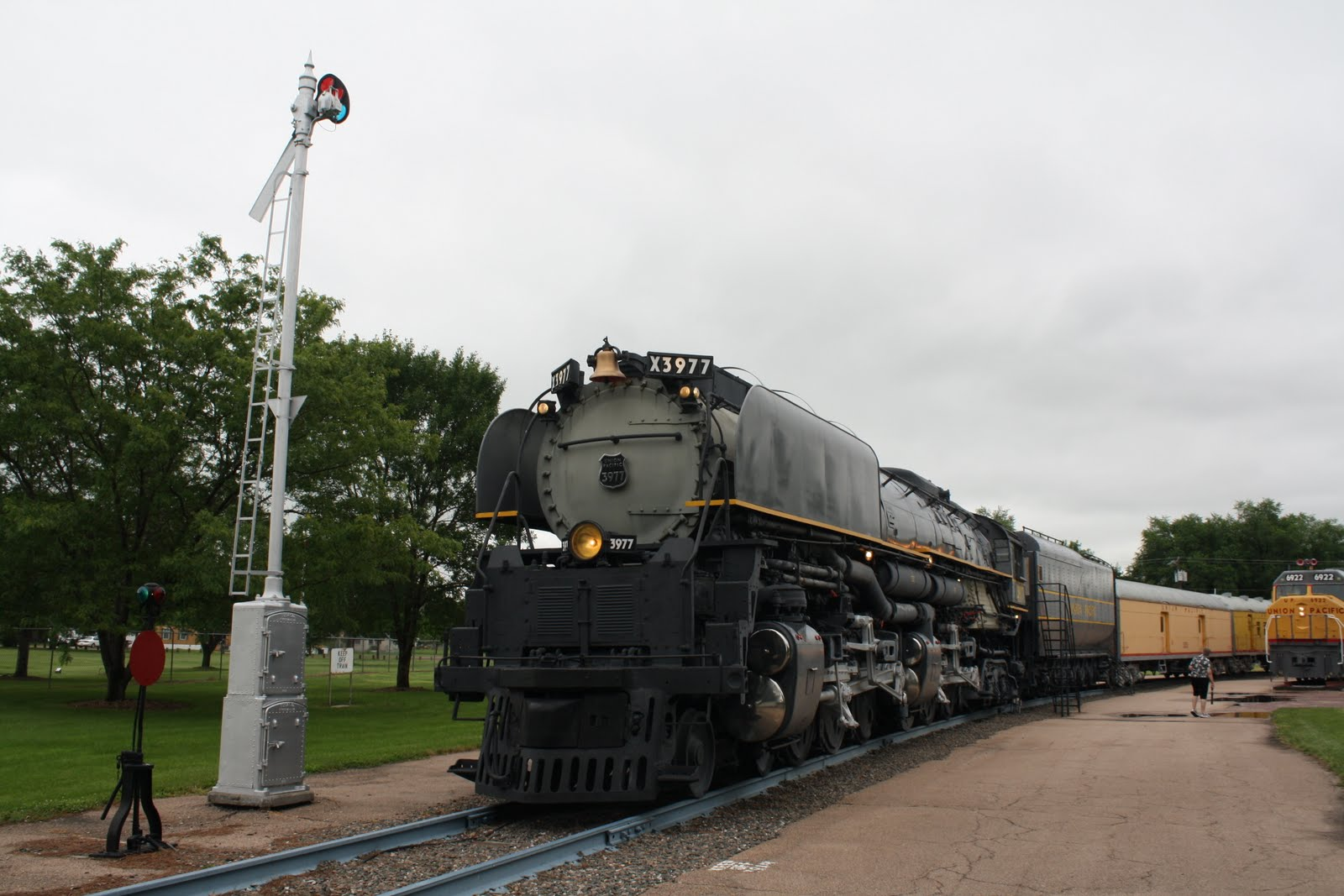 Tomandev July 7 Union Pacific Challenger And Diesel