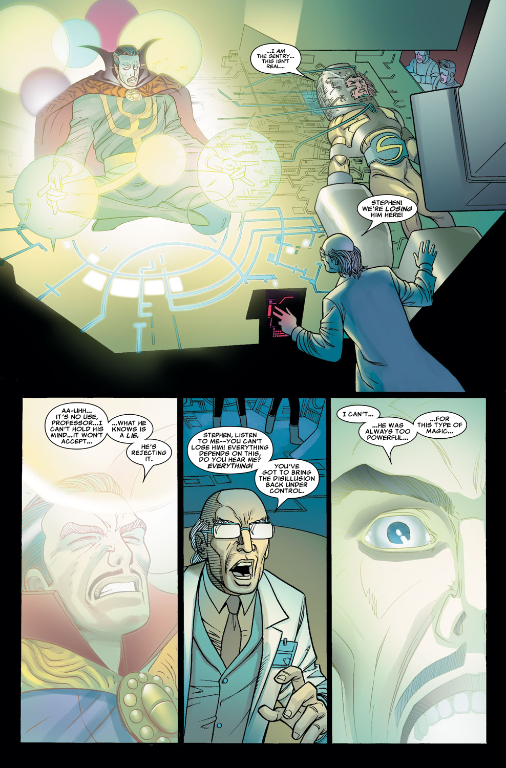 Read online Sentry (2006) comic -  Issue #7 - 15
