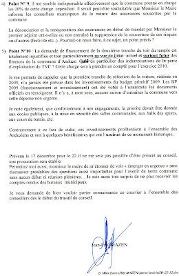 lettre de demission marrante LE REBOUSSIER: 12/09 lettre de demission marrante