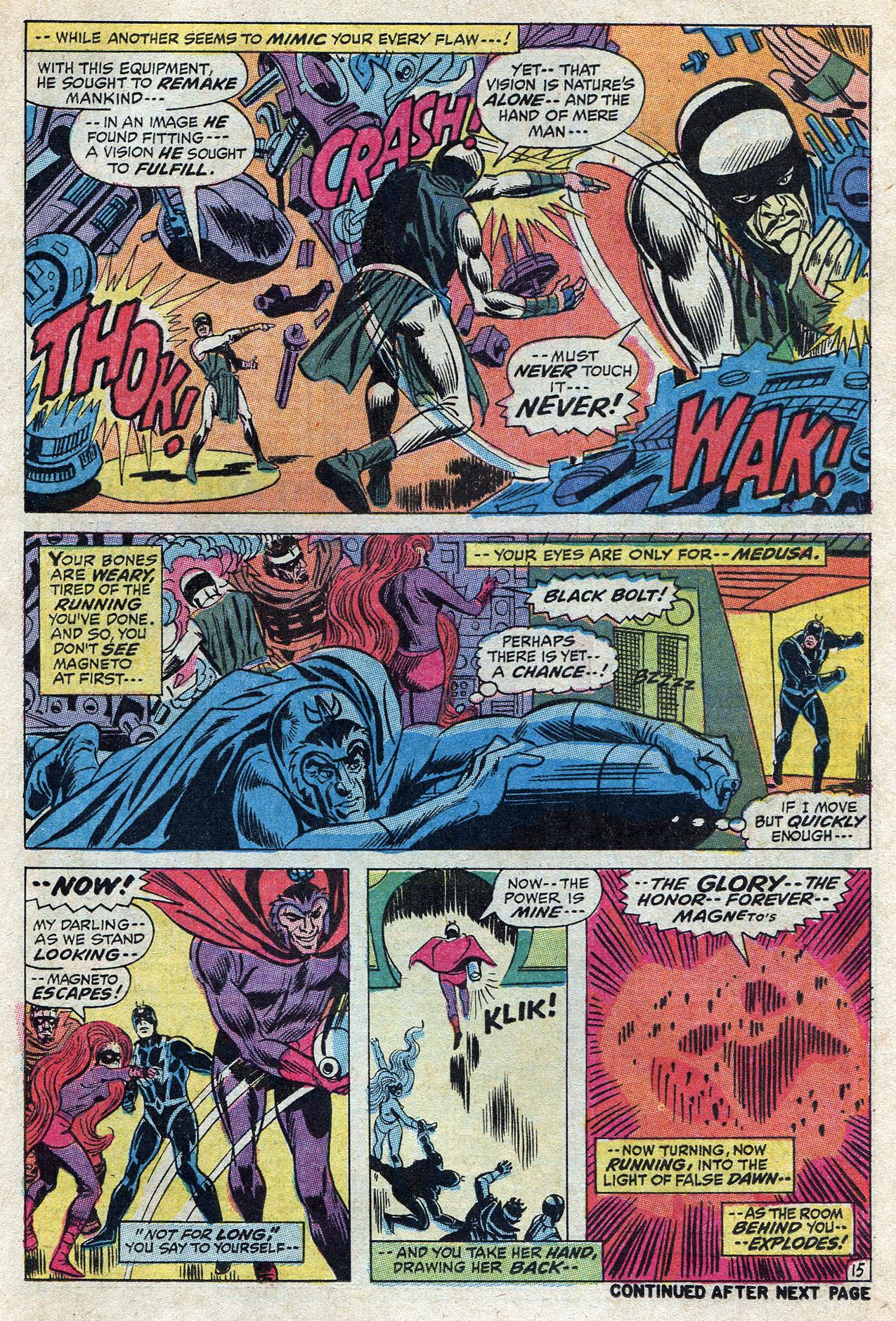 Read online Amazing Adventures (1970) comic -  Issue #10 - 21