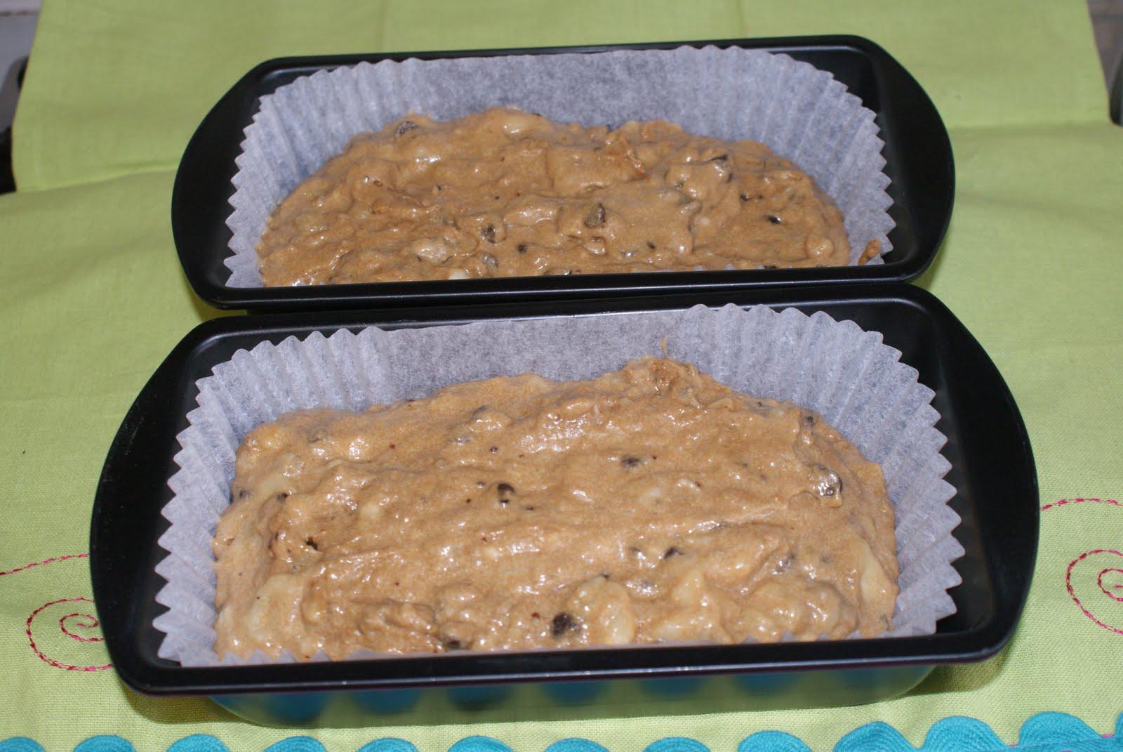 Cake Recipes Using Loaf Tin: Chocolate & Banana Loaf Cake