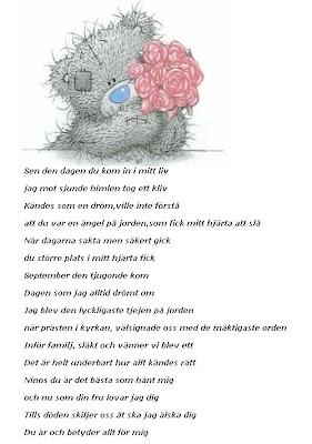 grattis brorsan dikt DIANAS VÄRLD..: 2009 grattis brorsan dikt