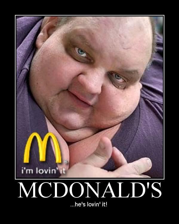 Fat Guy At Mcdonalds 45