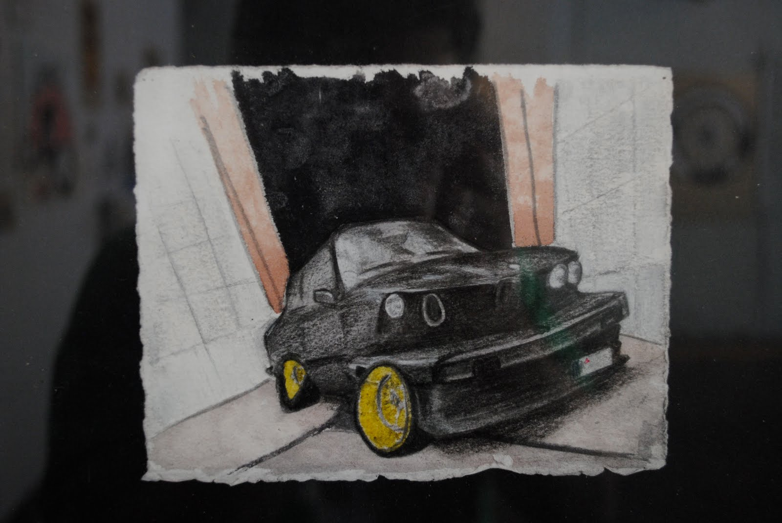 Motoring Through Life Bmw Art Car On 39th Street