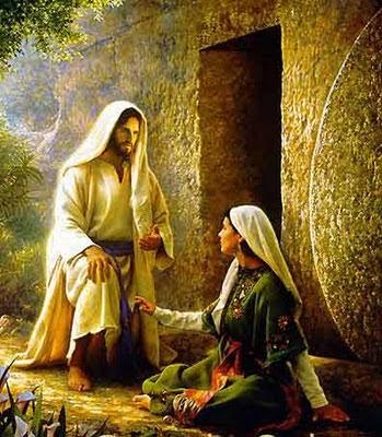 Resultado de imagem para maria madalena no tumulo