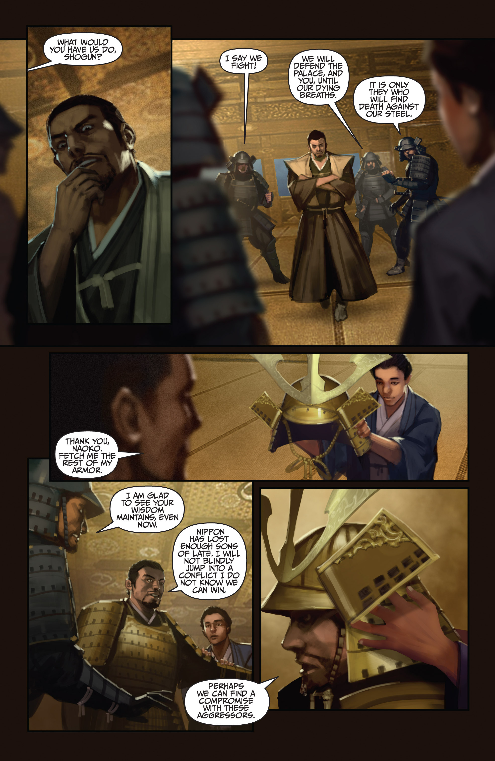 Read online Bushido: The Way of the Warrior comic -  Issue #5 - 5