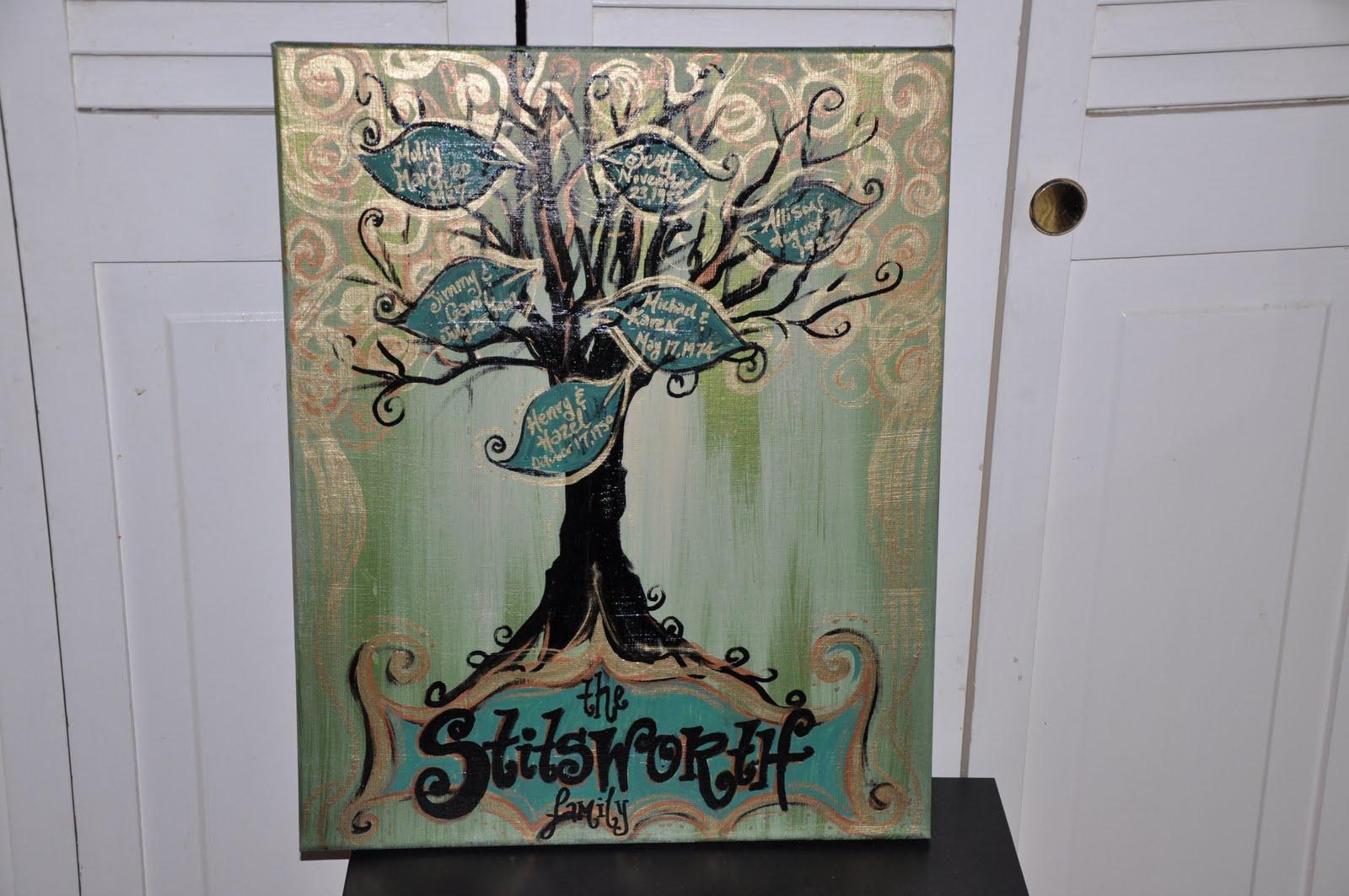 funky family tree - Family Tree Design Ideas