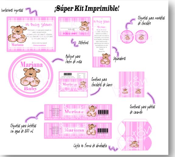Etiquetas Personalizadas Para Imprimir Gratis De Baby
