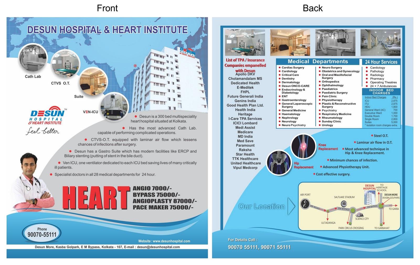 Gallery images and information: Travel Leaflet Design