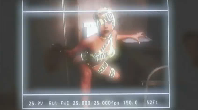 Making of Telephone Lady Gaga video