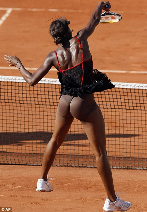 Venus Williams ne joue pas cul nu photos