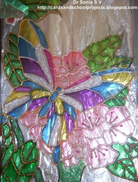Butterfly designs for glass painting - photo#35