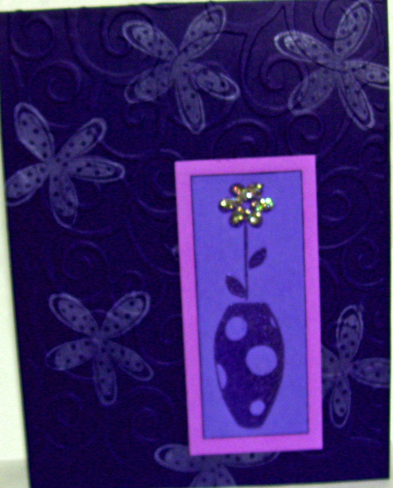 Simply Cards By Maria: Purple On Purple Swap With ORSA