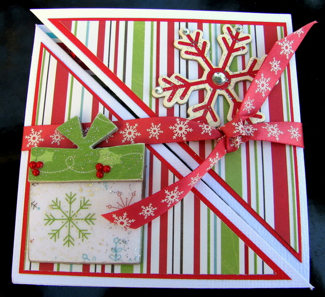 Christmas Tri-Fold Cards