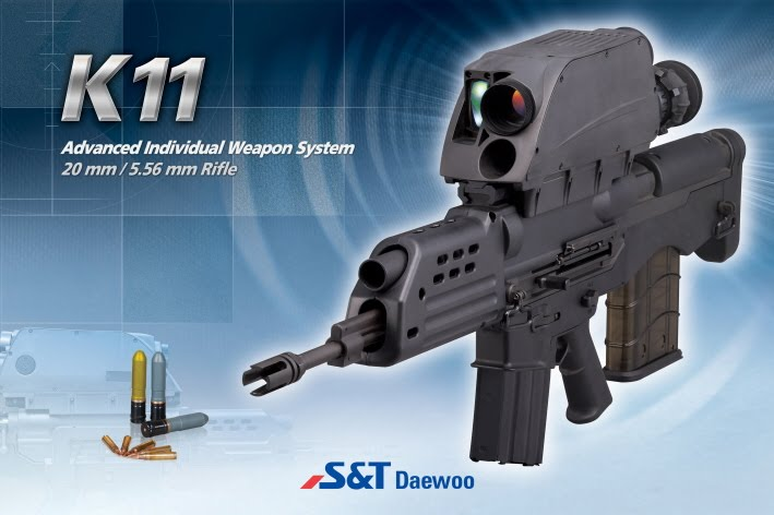 K 11 Gun for 40 K11 dual-caliber