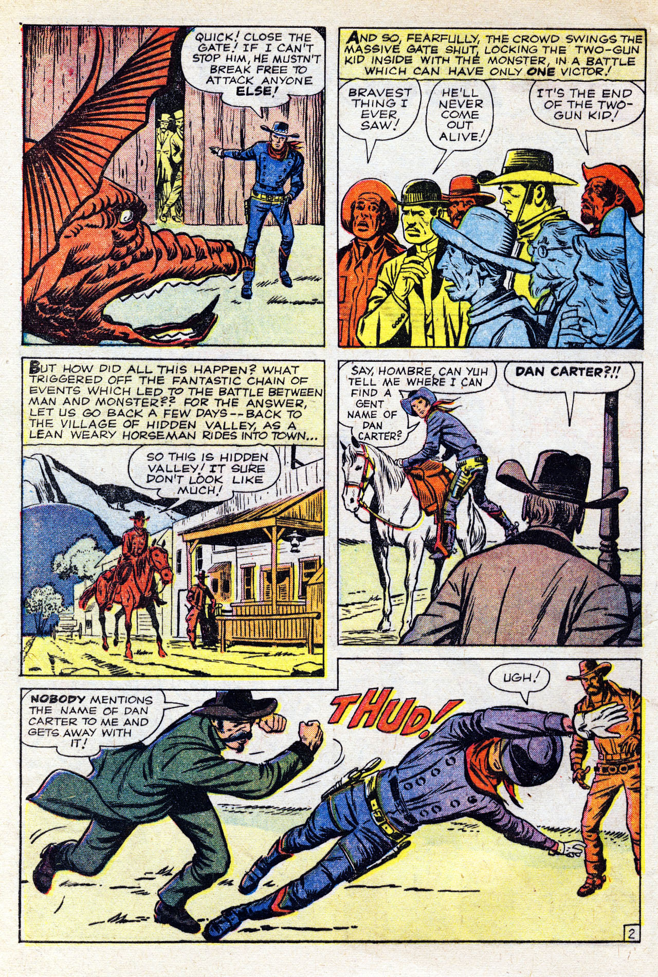 Read online Two-Gun Kid comic -  Issue #58 - 4