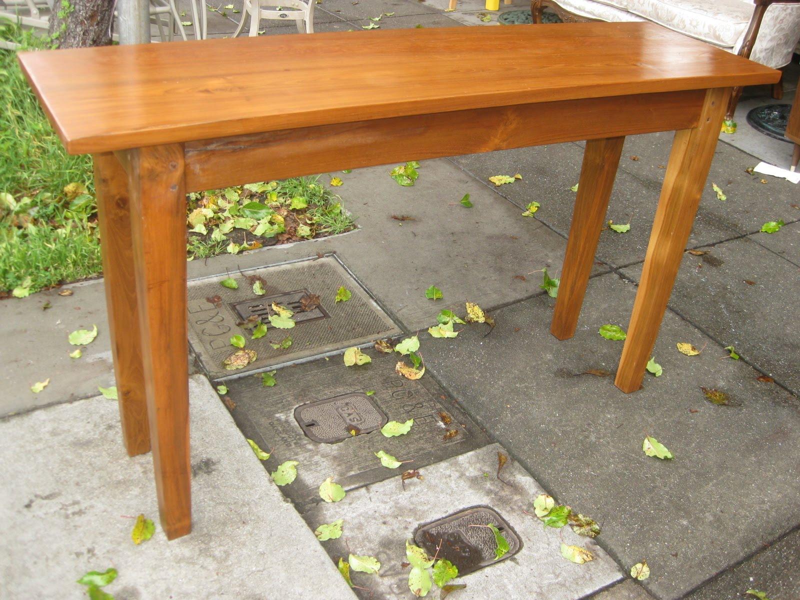 teak sofa table split back bed uhuru furniture collectibles sold divine 165