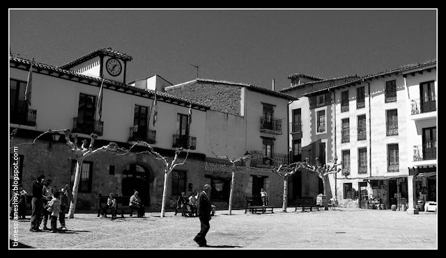 Plaza Mayor de Covarrubias