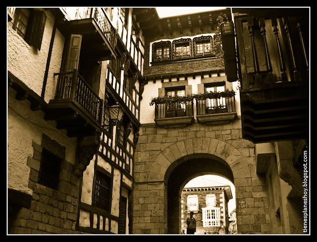 Construcciones medievales de Hondarribia