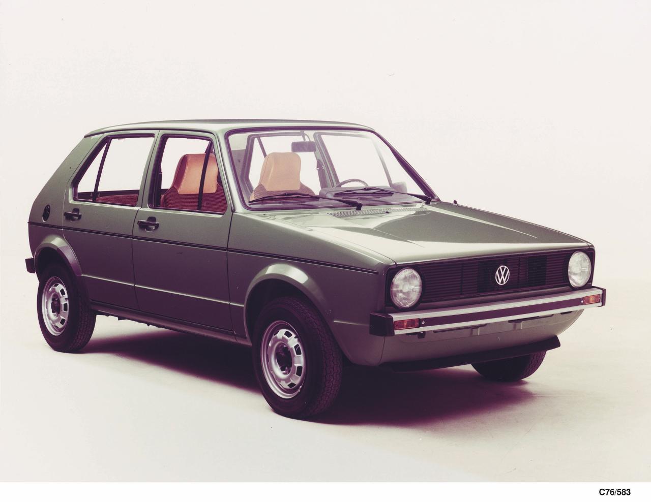 revista coche historia del volkswagen golf y del golf gti. Black Bedroom Furniture Sets. Home Design Ideas