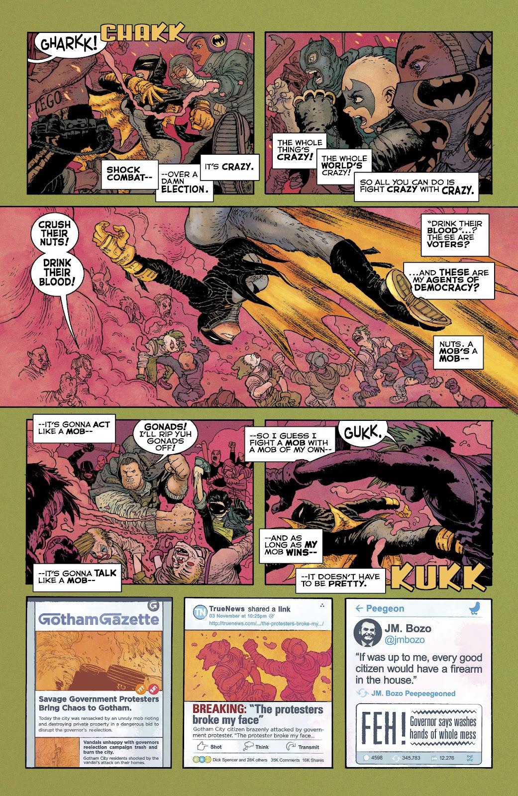 Dark Knight Returns: The Golden Child issue Full - Page 10
