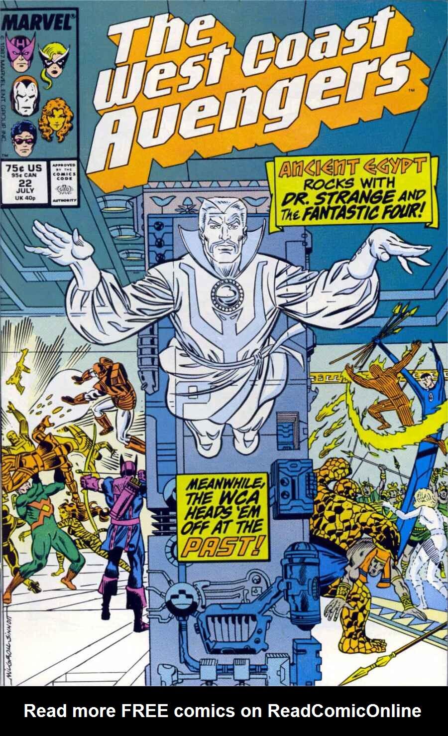 West Coast Avengers (1985) 22 Page 1