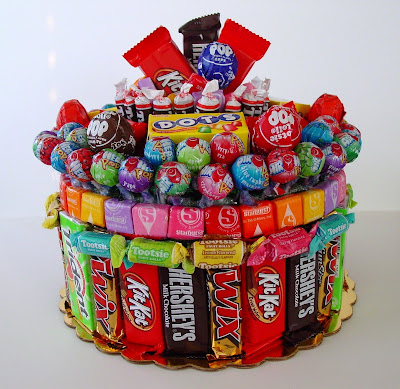 Mix candy cake | Christmas Gifts For Girlfriend | DIY Gifts For Your BFF
