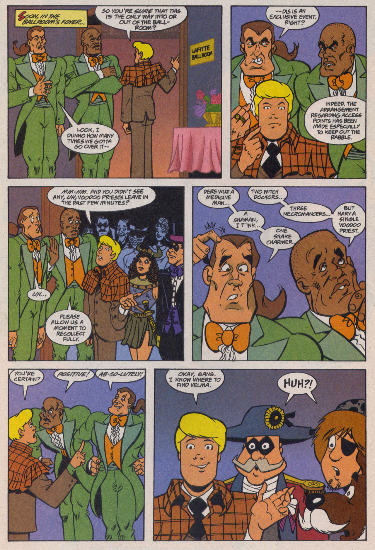 Read online Scooby-Doo (1997) comic -  Issue #9 - 12