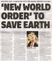 nuovo ordine mondiale, giornale