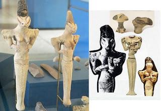 oopart, statuette rettiliani