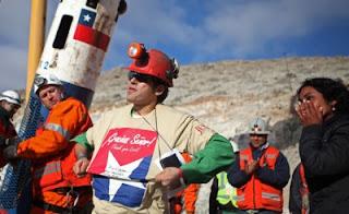 salvataggio minatori, pentacolo