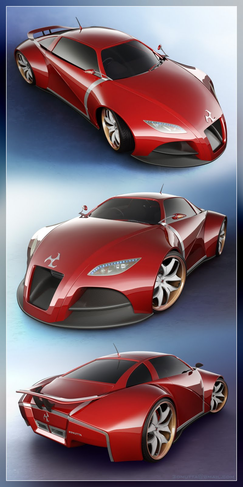 Car Concept Wallpaper 2010 - Awesome Design