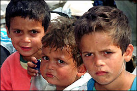 GYPSY KIDS IN KOSOVO
