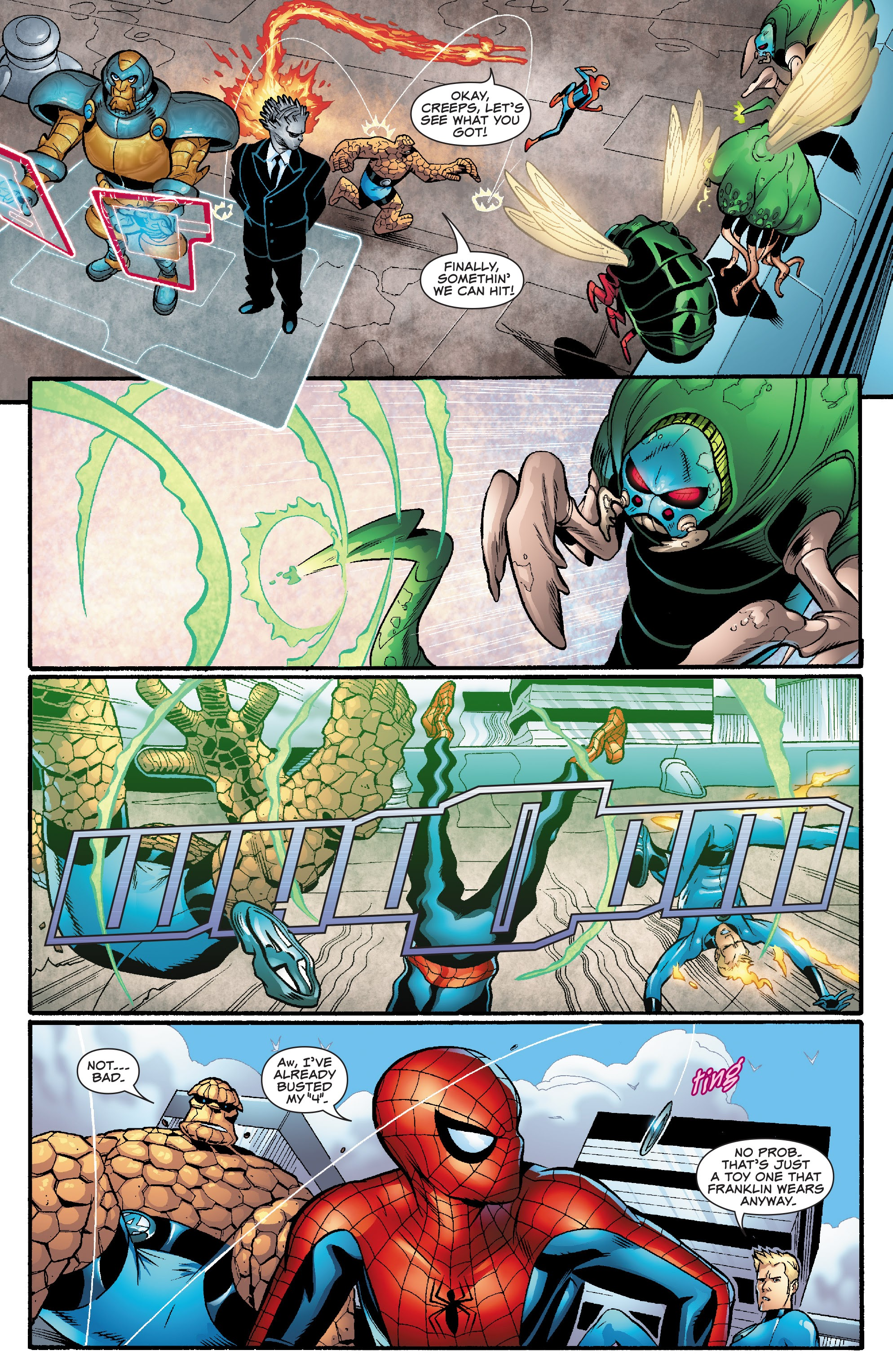 Spider-Man and the Fantastic Four issue 3 - Page 5