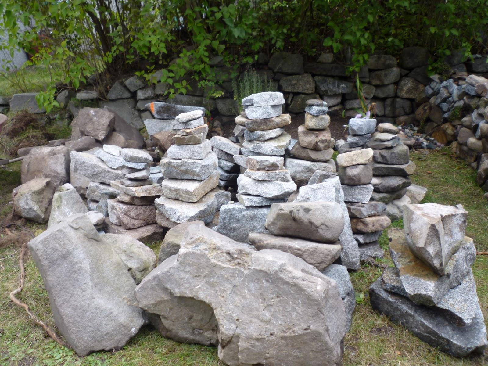 How Make Raised Rock Garden