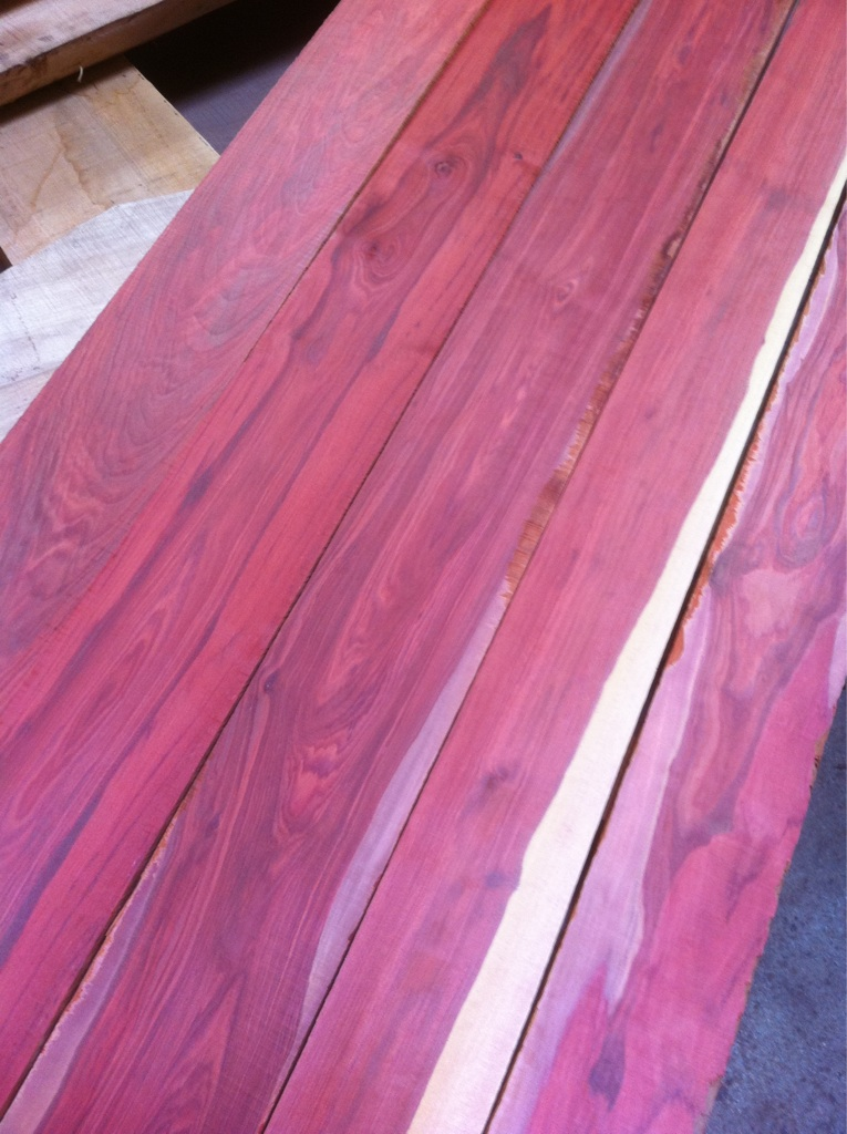 Why Is Some Lumber Pink