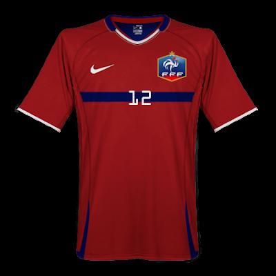 BonCamisetas 10: Francia Nike