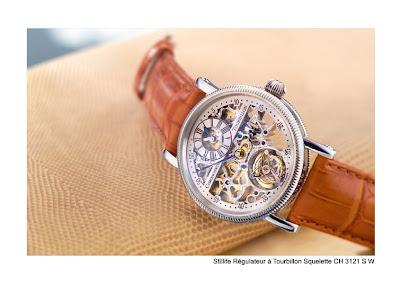 Chronoswiss Régulateur à Tourbillon Squelette watch