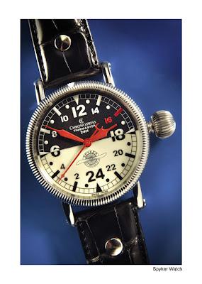 "Chronoswiss Spyker ""Double12 Pilot Watch"" Limited Edition watch"
