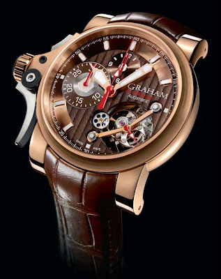 Graham-London Chronofighter Trigger Tourbillograph