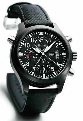 IWC Schaffhausen Pilot's Watch Double Chronograph Edition TOP GUN Ref. IW3799