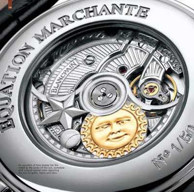 Blancpain Equation du Temps Marchante - The World's First  Running Equation of Time Watch (2004)