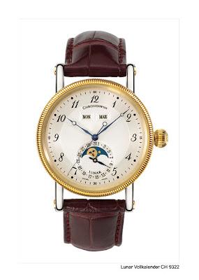 Chronoswiss Lunar Triple Date watch red gold