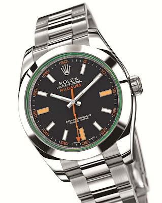 Rolex Oyster Perpetual Milgauss 904L Steel (reference 116400)