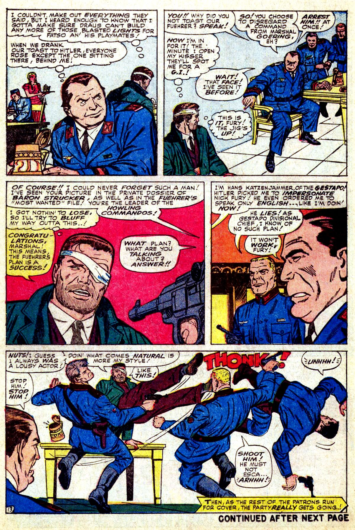 Read online Sgt. Fury comic -  Issue #27 - 18