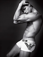 Cristiano Ronaldo for Armani underwear shirtless