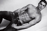 Cristiano Ronaldo for Armani abs muscle body