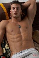 male model Michael Lewis TETU abs