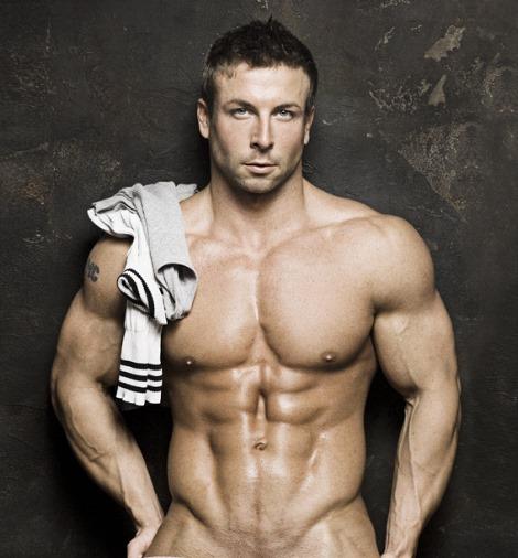 bodybuilder/male model Ronnie Douglas by Rick Day