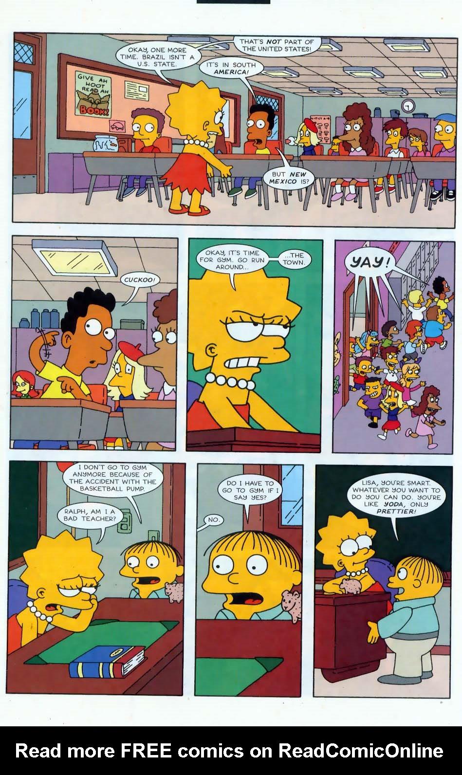 Read online Simpsons Comics comic -  Issue #44 - 13